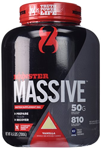 Cytosport Monster Massive Nutritional Drink, Protein Supplement Mix, Vanilla