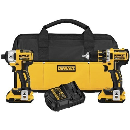 DEWALT DCK281D2 20V Max XR Lithium Ion Brushless Compact