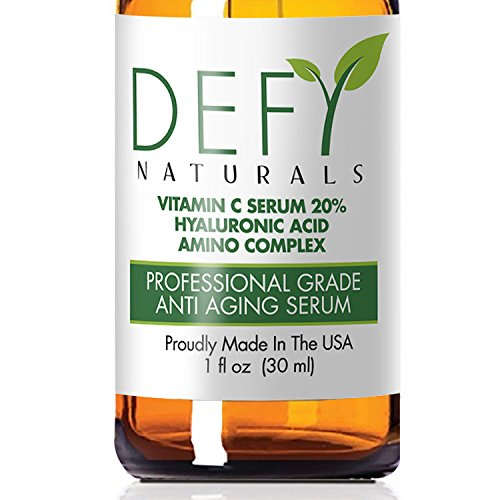 Vitamin C Serum by Defy Naturals - 20% Clinical