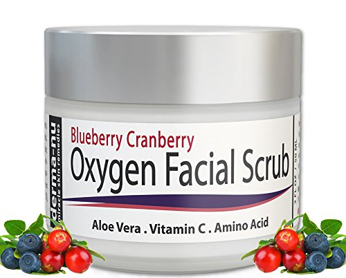 Facial Scrub - Blueberry Cranberry Anti Oxidant Face Exfoliating