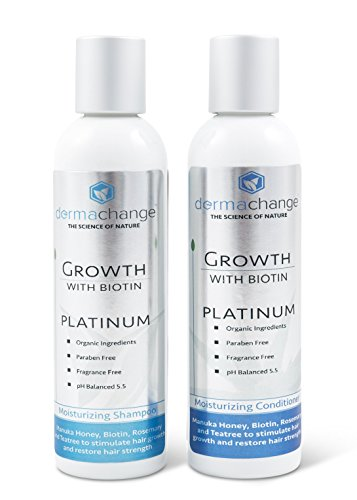 Organic Argan Oil and Biotin Hair Growth Shampoo Conditioner