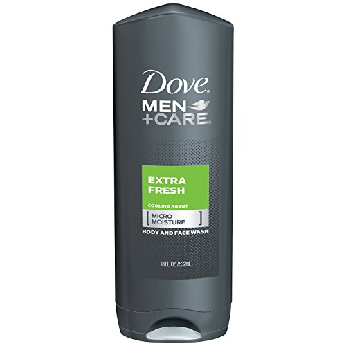 Dove Men+Care Body and Face Wash, Extra Fresh 18