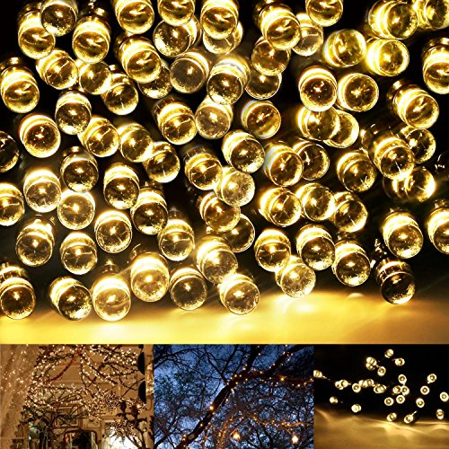 Eonfine Party String Lights 72ft 22m 200 LED Solar