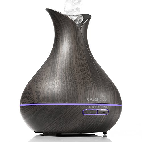 Easehold Aroma Essential Oil Diffuser Humidifer 400ml Cool Mist