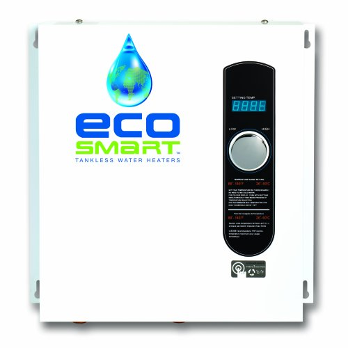 Ecosmart ECO 27 Electric Tankless Water Heater, 27 KW