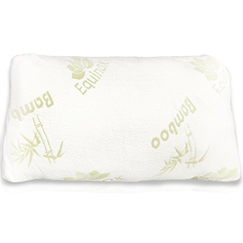 Equinox International Queen/Standard Size 17 X 25-Inches Shredded Memory