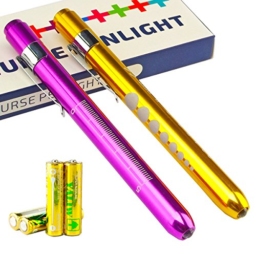 Escolite 9416A Medical LED Penlight with Pupill Gauge Reusable