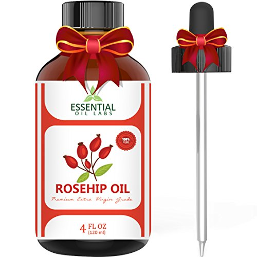 Rosehip Oil - Organic Extra Virgin Grade - Large