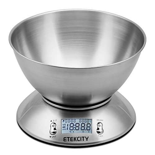 Etekcity 11lb 5kg Digital Multifunction Food Kitchen Scale with