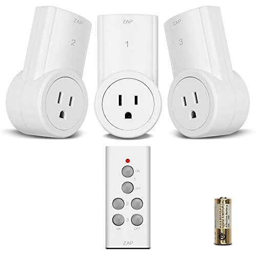 $19.98 Etekcity Wireless Remote Control Electrical Outlet Switch for Household