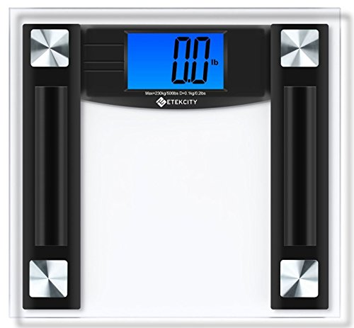 Etekcity Digital Body Weight Bathroom Scale, 506 Pounds, Large