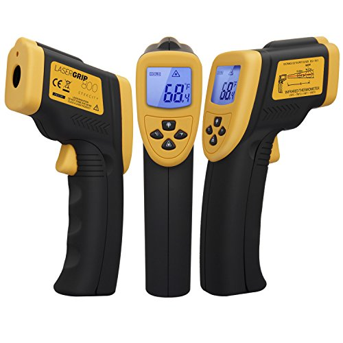 $25.98 Etekcity Lasergrip 800 Non-contact Digital Laser IR Infrared Thermometer