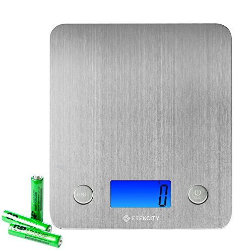 Etekcity Digital Kitchen Scale Multifunction Food Scale with 30%