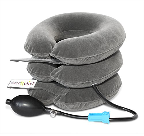 Inflatable Cervical Neck Traction Device ✮ Improve Spine Alignment