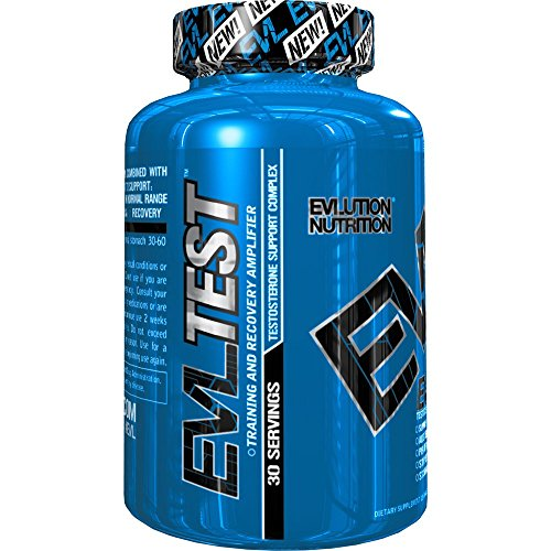 Evlution Nutrition Testosterone Booster EVL Test Training  Recovery