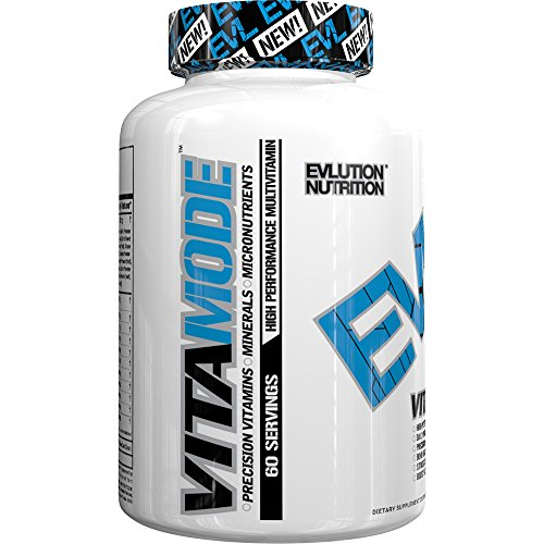 Evlution Nutrition Multivitamin, VitaMode, Daily Vitamin Support (60 Serving)