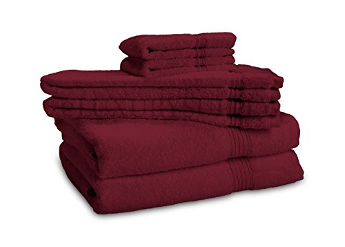 $37.99 Egyptian Cotton Towel Set - 6-Piece 600GSM - Medium