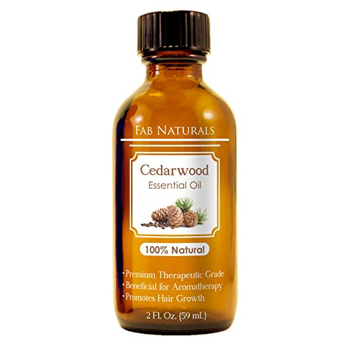 Cedarwood Essential Oil with Dropper, 100% Pure to Prevent