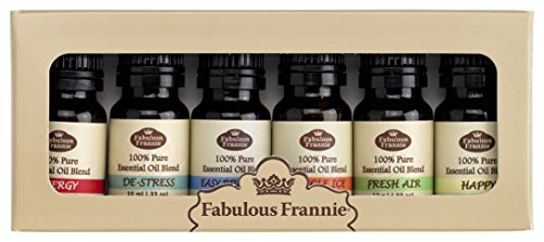Fabulous Frannie Synergy Essential Oil Blend Basic Sampler Set