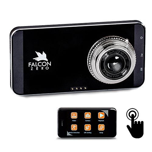 Falcon Zero Touch PRO HD Dash Cam [TOUCH SCREEN]