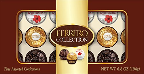 $7.74 Ferrero Collection, 18 Count, 6.8 Ounce (194 gm)