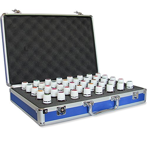 40 Bottle Essential Oil Carrying Case - Protect Your