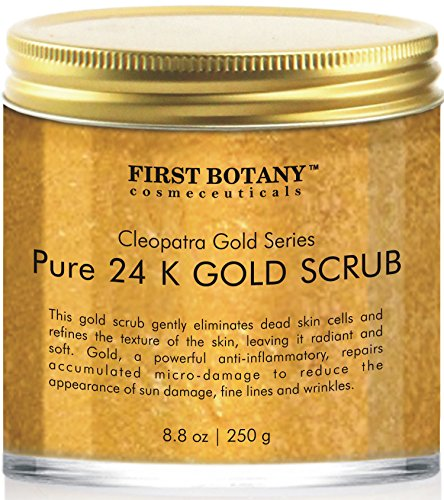 The BEST 24K Gold Scrub for Face and Body