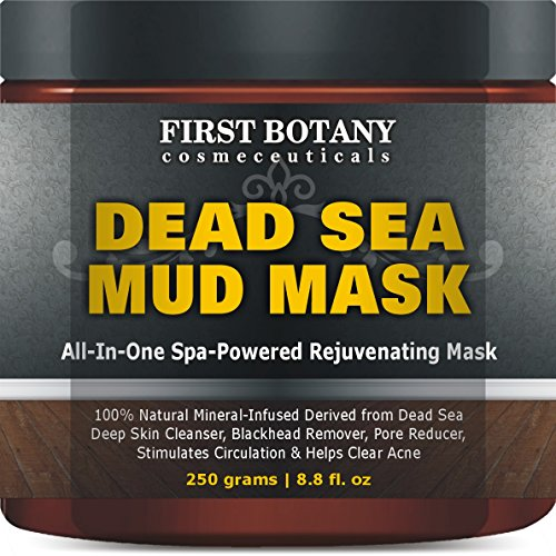 100% Natural Mineral-Infused Dead Sea Mud Mask 8.8 oz