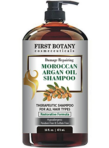 Moroccan Argan Oil Shampoo with Restorative Formula 16 fl