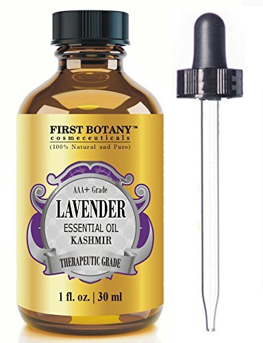 Kashmir Lavender Essential Oil with a Glass Dropper -