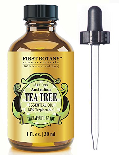 100% Pure Australian Tea Tree Essential Oil with 45%