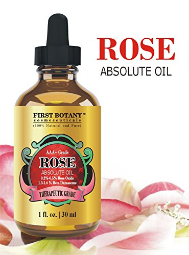 100% Pure Rose Essential Oil 1 fl. oz –
