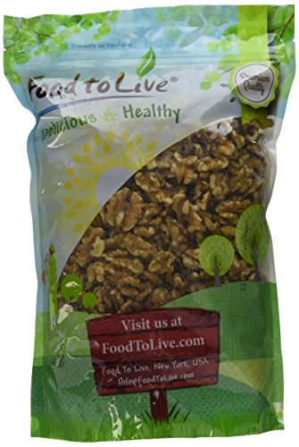 Food To Live ® Walnuts (Raw, No Shell) (2.5