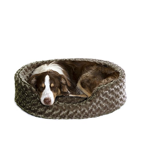 $34.99 Furhaven Pet NAP Oval Ultra Plush Bed for Dog