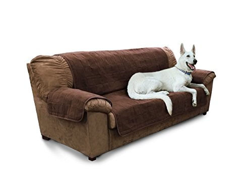 $39.73 Furhaven Pet Products Home Sofa Protector, Espresso