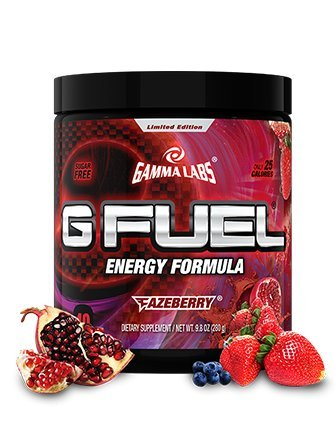 Gamma Enterprises G Fuel Nutrition Supplement, Fazeberry, 280 Gram