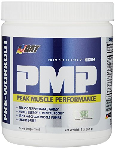 GAT PMP (Peak Muscle Performance), Next Generation Pre Workout