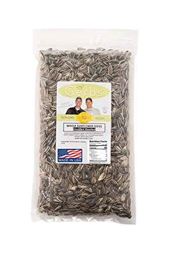 Dry Roasted  Unsalted Whole Sunflower Seeds by GERBS