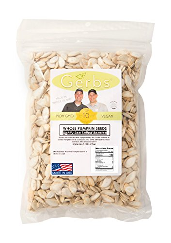 Lightly Sea Salted Pumpkin Seeds In Shell by Gerbs