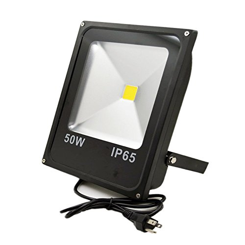 GLW® 50w Outdoor LED Flood Lights Warm White Security