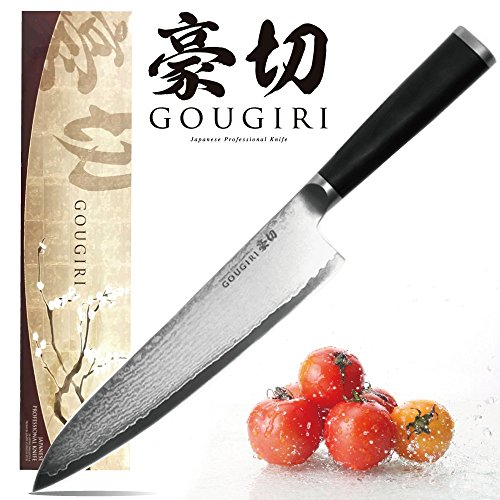 GOUGIRI 8-Inch Stainless Steel Chef\'s Knife with 33 Layers