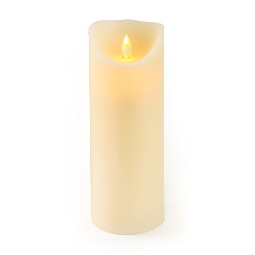 Gideon 9 Inch Flameless LED Candle - Real Wax