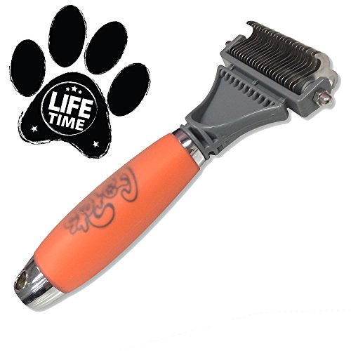 $29.99 GoPets Dematting Comb with 2 Sided Professional Grooming Rake