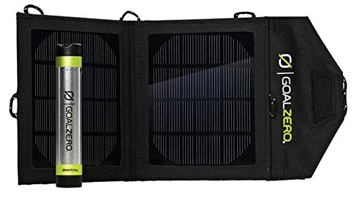 $44.99 Goal Zero 41001 Switch 8 Silver/Black Solar Recharging Kit