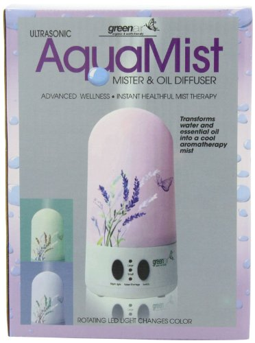 Greenair Aquamist Advanced Aromatherapy Diffuser for Instant Mist Wellness