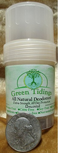 Green Tidings All Natural Deodorant *Extra Strength, All Day