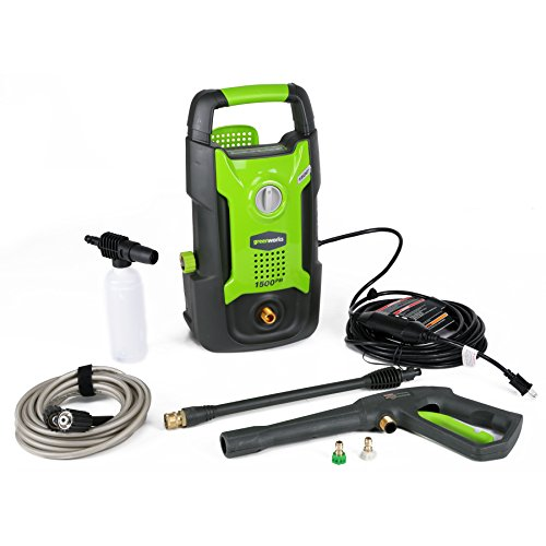 GreenWorks GPW1501 13 amp 1500 PSI 1.2 GPM Electric