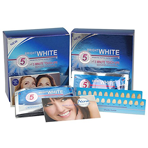 Grinigh Professional Teeth Whitening Gel Strips with Advanced Seal