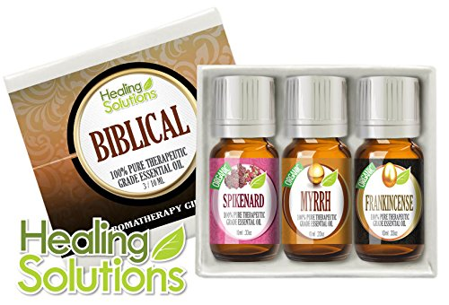 Biblical Set 100% Pure Therapeutic Grade Aromatherapy Essential Oil