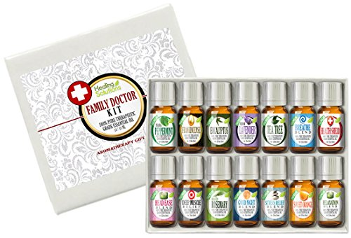 Family Doctor (14) Essential Oil Set 100% Pure, Best